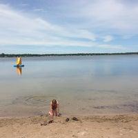 Photo taken at white sand lake by Kristine K. on 6/24/2013