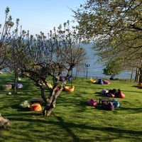 Photo taken at Saklı Deniz by Esra K. on 4/21/2013