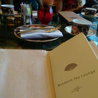 Photo taken at Tea Lounge at Mandarin Oriental, Las Vegas by Rachael K. on 1/20/2017