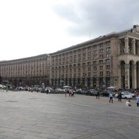 รูปภาพถ่ายที่ Вулиця Хрещатик / Khreshchatyk Street โดย Михаил П. เมื่อ 7/16/2013