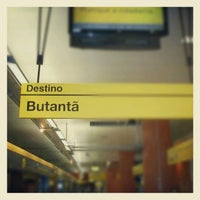 Photo taken at Estação Butantã (Metrô) by Oswaldo M. on 6/1/2013