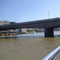 Photo taken at London Bridge by Rachael on 7/6/2013