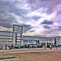 Снимок сделан в Международный аэропорт Кольцово (SVX) пользователем Vladimir 8/28/2013