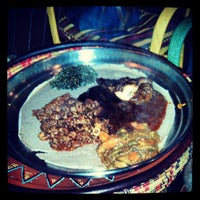Photo taken at Ras Dashen Ethiopian Restaurant by Sotero M. on 3/21/2013