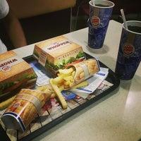 Photo taken at Burger King by Mehmet K. on 8/14/2014