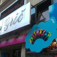 Photo taken at Klub Kino Grič by Vasilije S. on 10/16/2012
