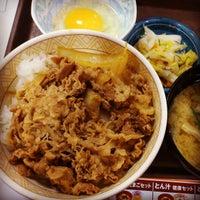 Photo taken at Sukiya by なかのざわ あ. on 4/9/2013