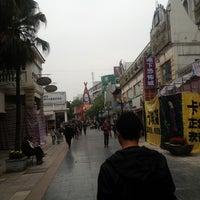 Photo taken at Guilin walking street by Chloé L. on 4/12/2013
