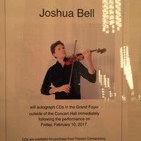 2/10/2017 tarihinde Laila S.ziyaretçi tarafından Kennedy Center Concert Hall - NSO'de çekilen fotoğraf