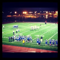 Photo taken at Renton Memorial Stadium by Katya G. on 10/27/2012
