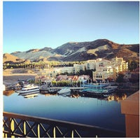 Photo taken at Hilton Lake Las Vegas Resort & Spa by KP on 12/3/2012