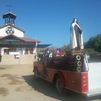 Photo taken at Santuario Santa Teresita de los Andes by Sam U. on 3/23/2013