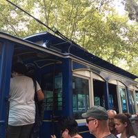 Photo taken at Tramvia Blau by Mustafa Y. on 9/4/2017