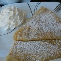 Photo taken at Crepe Expectations by Lisa F. on 9/25/2012