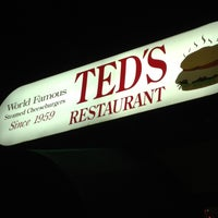 Photo taken at Ted's Restaurant by Aimee G. on 12/22/2012