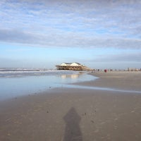 Photo taken at St. Peter-Ording Strand by Joerg on 1/4/2014