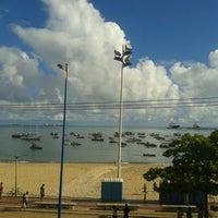 Photo taken at Vela e Mar Hotel Fortaleza by Teresa J. on 6/29/2013