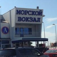 Photo taken at Морской вокзал by Наталья on 9/12/2013