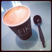Photo taken at FIKA Espresso Bar by dal on 9/19/2012