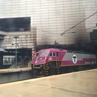 Photo taken at Amtrak ClubAcela (BOS) by dal on 10/21/2015