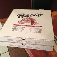 Photo taken at Bacco Bistro & Pizza by Meerim on 11/21/2012