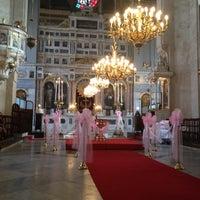Photo taken at Hagia Triada Greek Orthodox Church by Engin A. on 10/14/2012