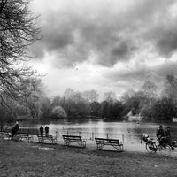 Photo taken at Battersea Park by Tom P. on 1/27/2013
