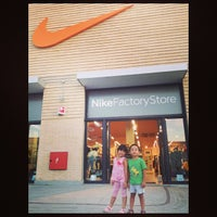 Photo taken at Nike Factory Store by Bhaby S. on 8/3/2013