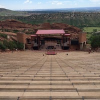 Photo taken at Red Rocks Interactive Hall Of Fame by Richard G. on 7/5/2016