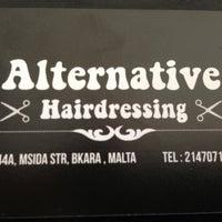 Photo taken at Alternative Hairdressing by Natasha B. on 7/20/2013