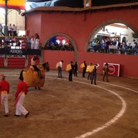 Photo taken at Plaza de Toros Arroyo by Ana Karen on 8/31/2013