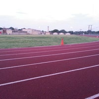 Photo taken at Hillcrest High School Track by Francia m. on 8/14/2013