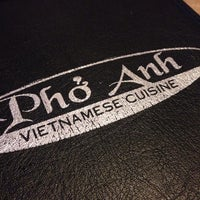 Photo taken at Pho Anh by Ryan O. on 1/9/2014