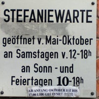 Photo taken at Kronprinzessin Stefanie-Warte by Frank H. on 5/27/2014