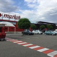 Photo taken at Carrefour Market Scheibenhard by Frank H. on 6/30/2016