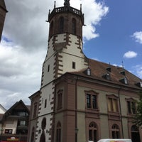 Photo taken at Rathaus I Bühl by Frank H. on 6/30/2016