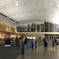 Photo taken at Boise Airport (BOI) by Bryan S. on 3/15/2013