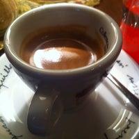 Photo taken at Porto coffee & wine by Matúš H. on 1/7/2014