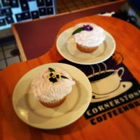 Photo taken at Cornerstone Coffeehouse by Cornerstone Coffeehouse on 7/3/2013