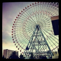 Photo taken at Tempozan Giant Ferris Wheel by andhyphen on 9/23/2012