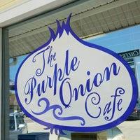 Photo taken at Purple Onion Cafe by Teresa O. on 9/5/2016
