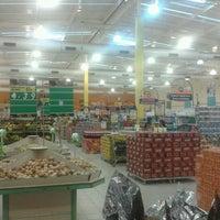 Photo taken at Carvalho Supermercado by Pablo M. on 3/13/2013