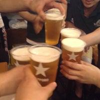 Photo taken at 串揚げ あげあげ 麻布十番 by beer_panda on 8/23/2014