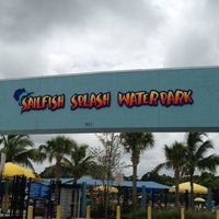 Photo taken at Sailfish Splash Waterpark by Felipe on 7/19/2013