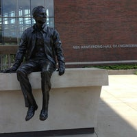 Photo taken at Neil Armstrong Hall Of Engineering (ARMS) by Charlie on 6/25/2013