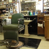 Photo taken at Richmond Barber Shop by Don on 12/11/2012