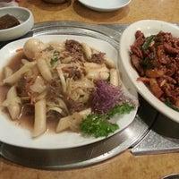 Photo taken at Korea Garden by Christina L. on 11/10/2012