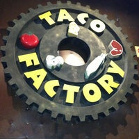 Photo taken at Taco Factory by Jalled on 1/8/2013