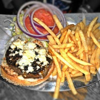 Photo taken at Black Iron Burger by Nana B. on 10/17/2012