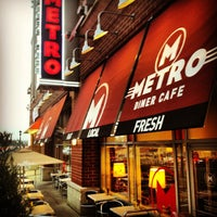 Photo taken at Metro Diner Cafe by Jeremy S. on 10/25/2012